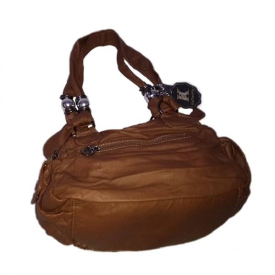 Sholder Handbag Dark Brown