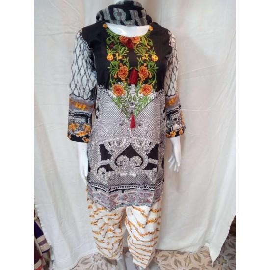 Readymade 3 Piece Stitched Suit